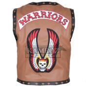 warrior vest brown 2