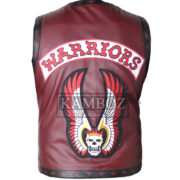 warrior vest burgundy 2